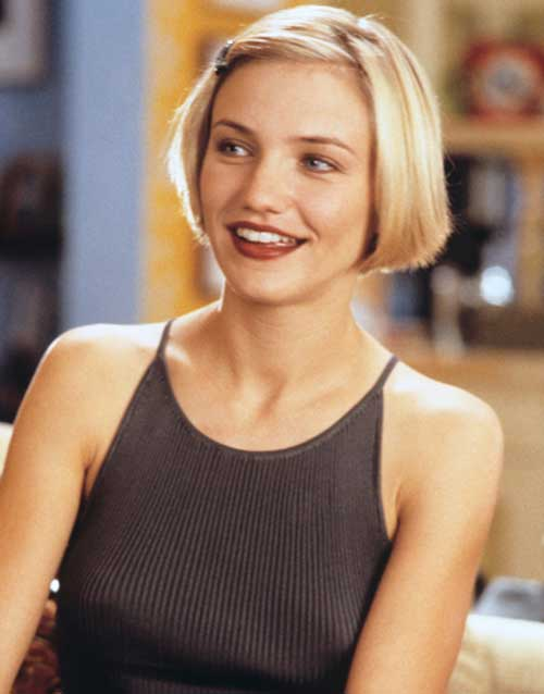 Cameron Diaz Bob Haircut | The Best Short Hairstyles for Women 2016