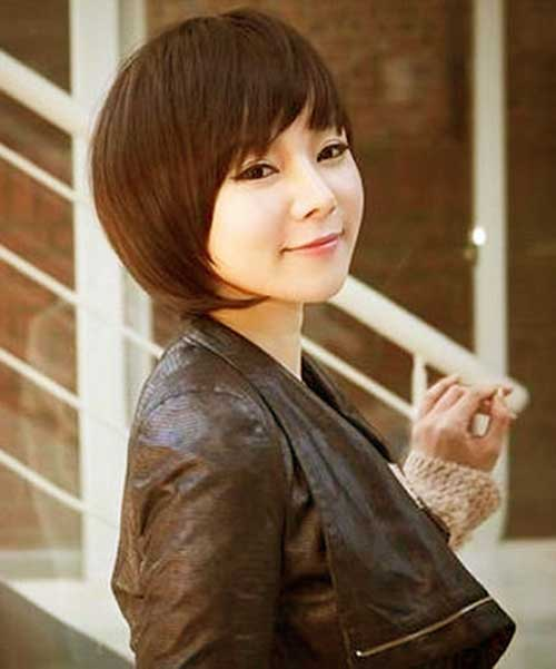 Chinese Fine Bob Hairstyles 2014