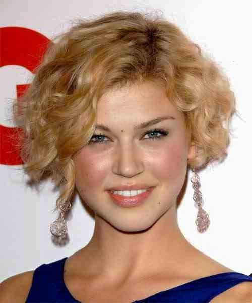 Best Curls with Short Bob Hairstyles 2015