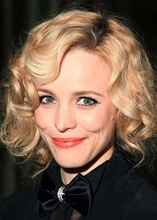 Curly Blonde Bob Hairstyles for Women 2015