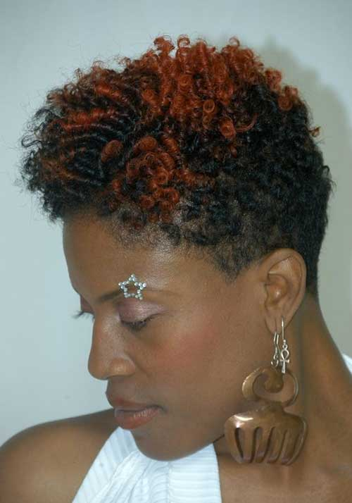 Curly Short Pixie Cuts for Black Women