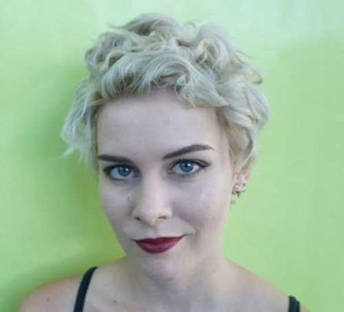 Curly Very Short Pixie Haircuts 2015