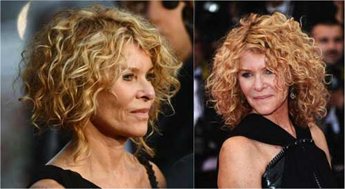 Curly Very Thick Short Hairstyles 2015
