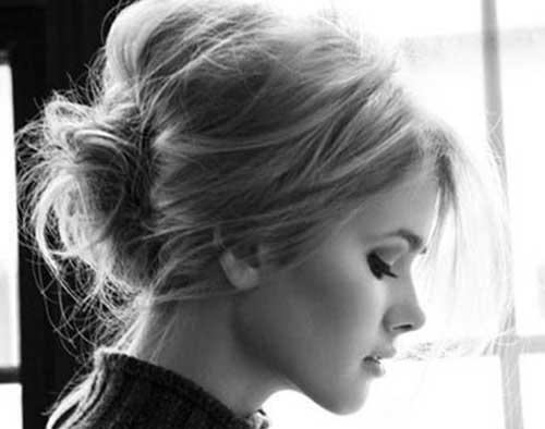 Cute Easy Low Bun Ideas Short Hair Styles