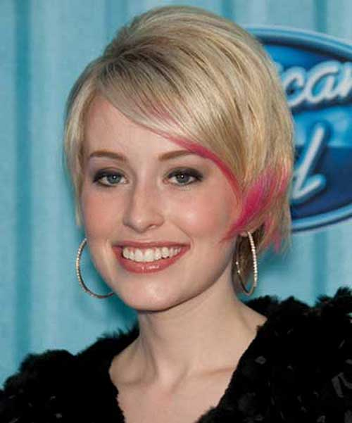Cute Short Hair Cuts for Round Faces