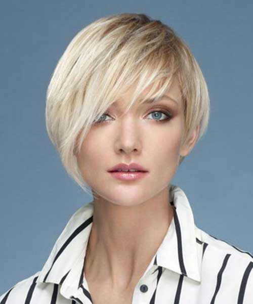 Cute Short Straight Hairstyles Inverted Haircuts
