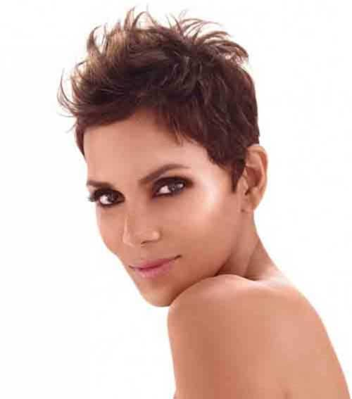 Funky Pixie Brown Hairstyles