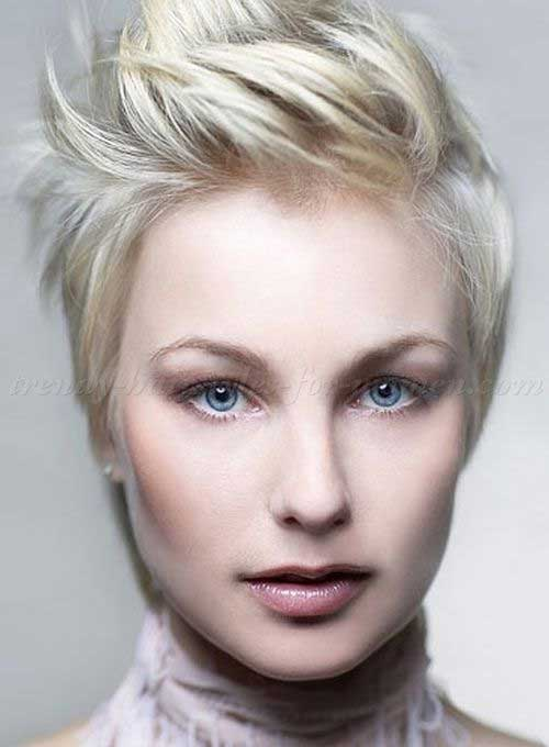 Funky Pixie Blonde Haircuts