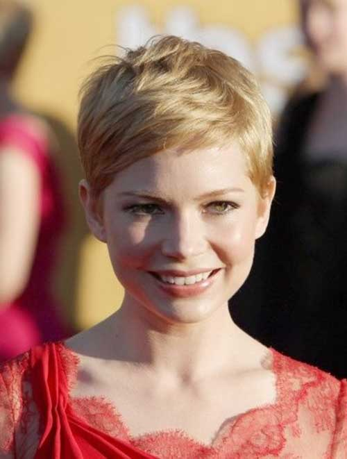 Hairstyles for Very Blonde Short Hair