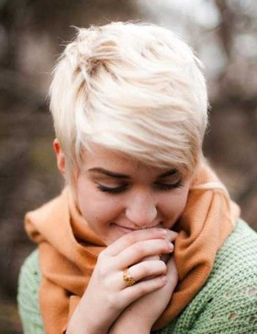 Hairstyles for Very Short Blonde Hair