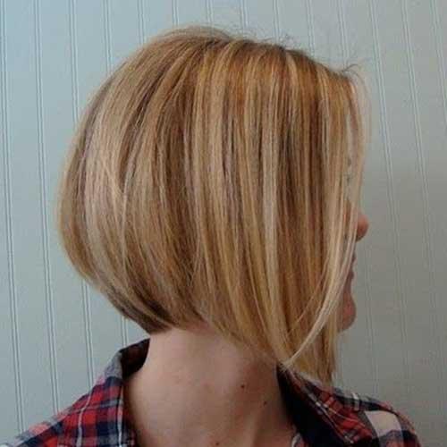 Highlights In Short Bob Hair