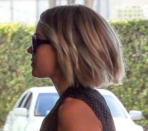 Lauren Conrad Choppy Bob Hair