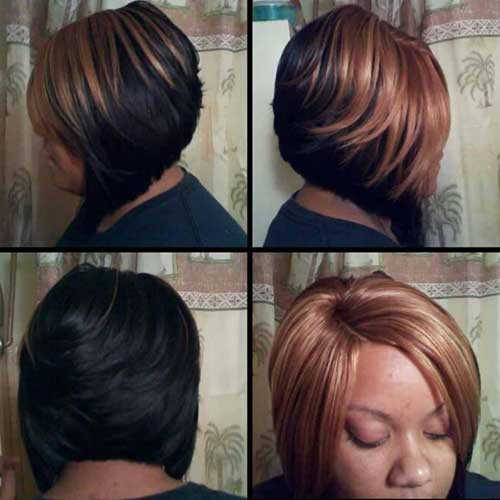 layered bob hairstyles black women short hairstyle 2013