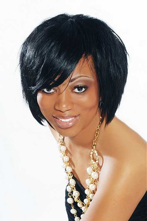 20 Layered Bob Hairstyles for Black Women | The Best Short Hairstyles ...