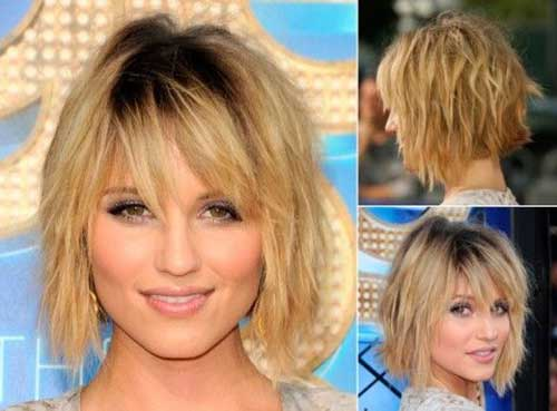 Layered Choppy Bob Haircuts for Women