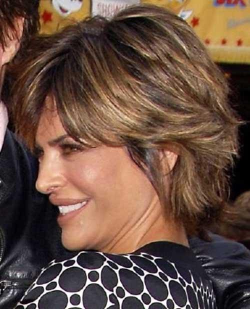 Layered Choppy Short Haircuts for Women
