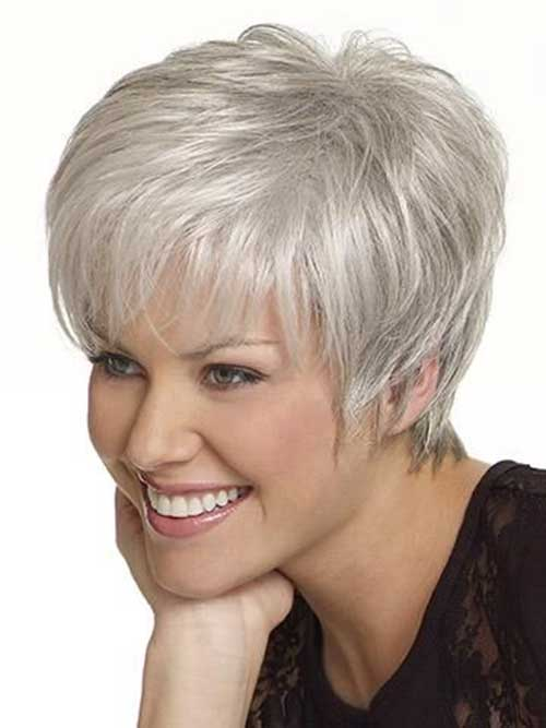 Hairstyles For Short Gray Hair  The Best Short Hairstyles For Women 2016