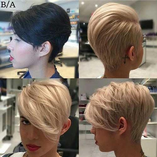 Long Pixie Hair Cut Styles for Women