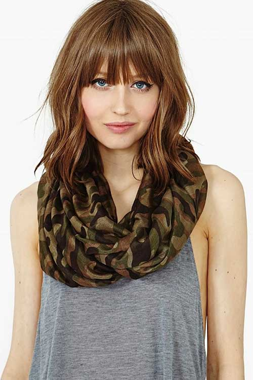 Superb Bangs 2017 Medium Hair Picture Hairbetty Com Hairstyles For Women Draintrainus