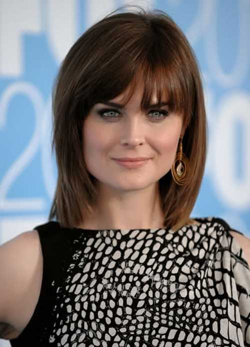 medium bob haircuts with bangs the best short hairstyles