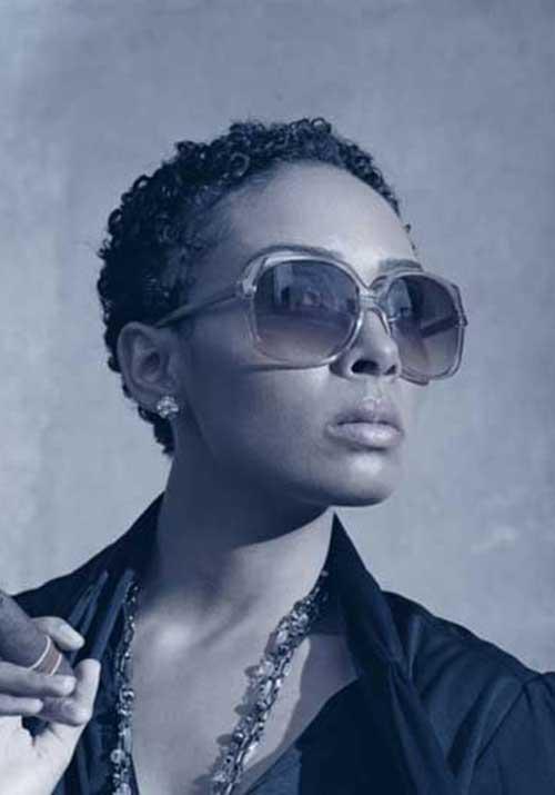 Natural Short Pixie Cuts for Black Women