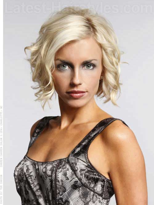 Nice Short Curly Hairstyle Ideas 2015