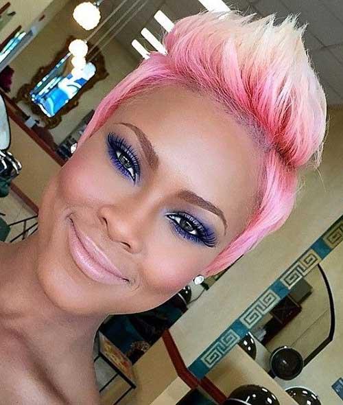 Pink Pixie Cut Ideas