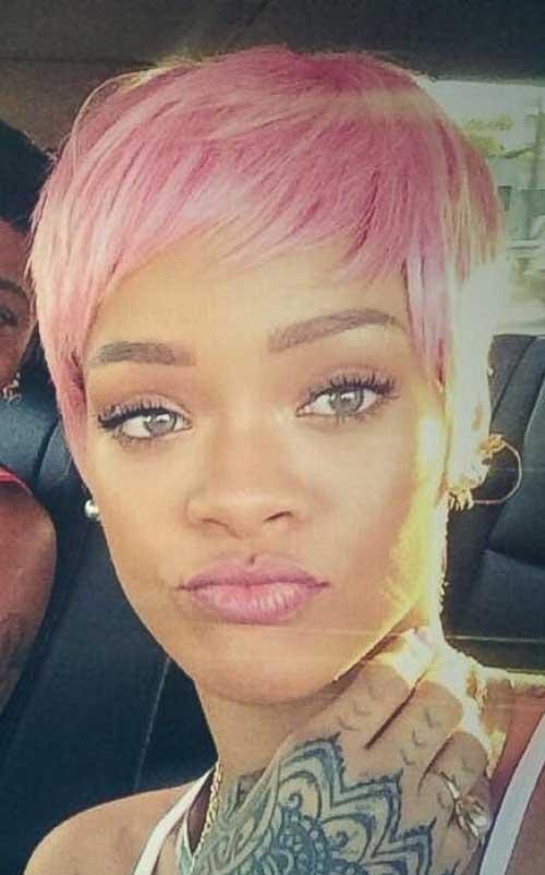 Best Pink Pixie Haircut