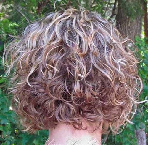 Short Curly Bob Hair for Girls