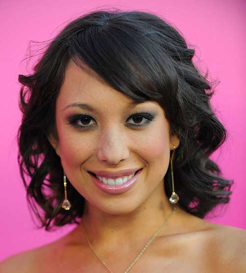 Short Curly Bob Hairstyles for Round Faces Black Women