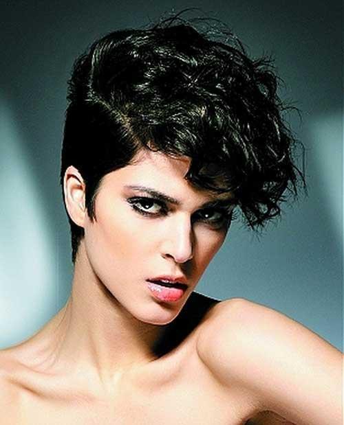 Short Curly Cute Pixie Hair Cuts 2015