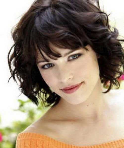Short Curly Hair Styles for Girls