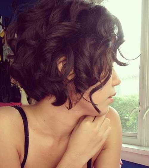 Short Curly Bob Haircuts 2015