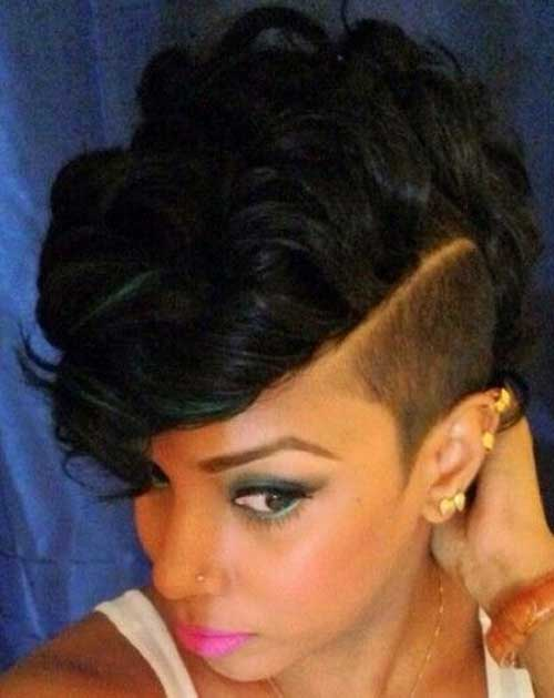 Hairstyles For Short Hair Mohawk : Curly Mohawk Hairstyles For Black Women Short curly mohawk hairstyles ...