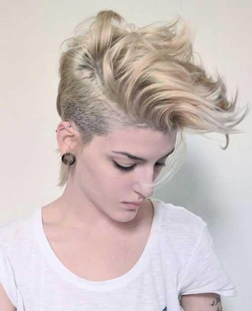 Short Curly Pixie Hair for Girls