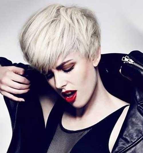 Short Platinum Hair Styles for Girls