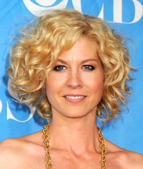 Short Haircuts for Curly Thick Blonde Hair Ideas