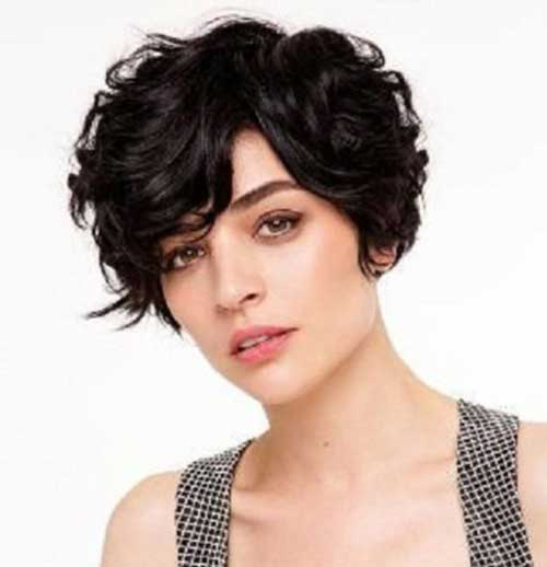 Short Haircuts for Curly Thick Pixie Hairstyles