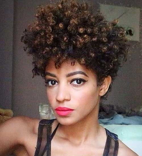 Best Short Haircuts for Natural Curly Thick Hair