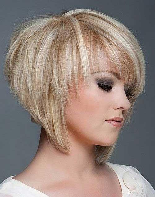 Short Layered Bob Haircuts Women