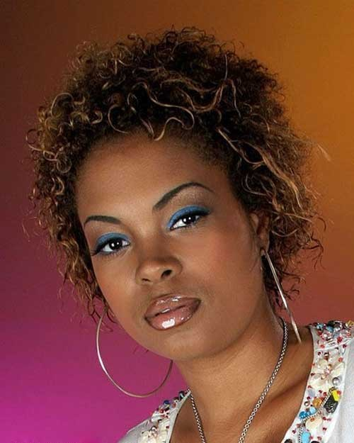 Best Short Natural Haircuts for Round Faces Black Women