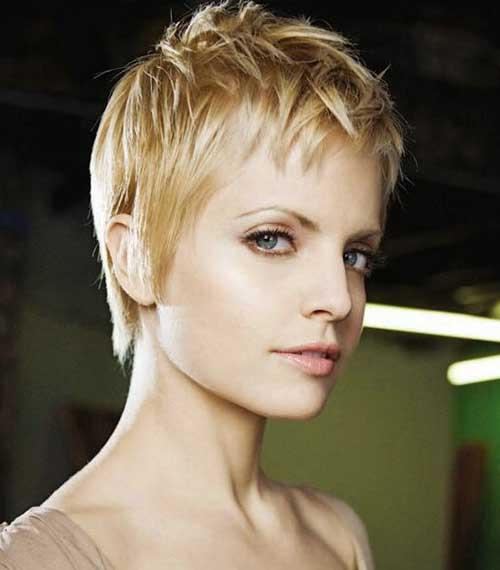Fine Cut Best Pixie Cut For Fine Hair