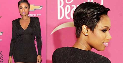 Short Pixie Cuts Idea for Black Women