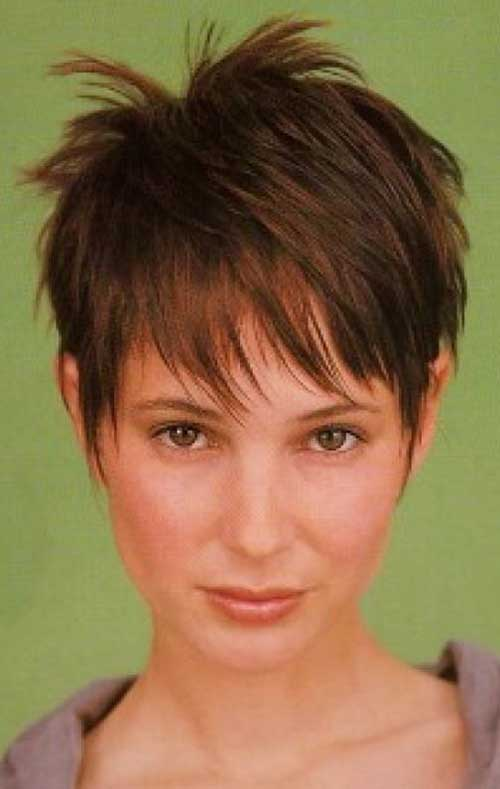 Trendy Spiky Pixie Cuts For Women