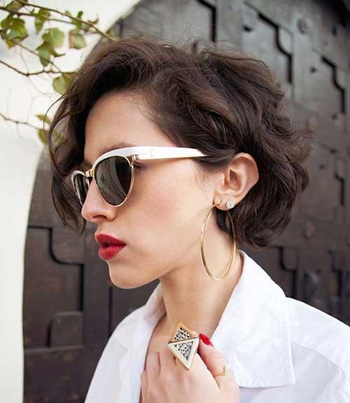 Short Wavy Pixie Hair Cuts for Women