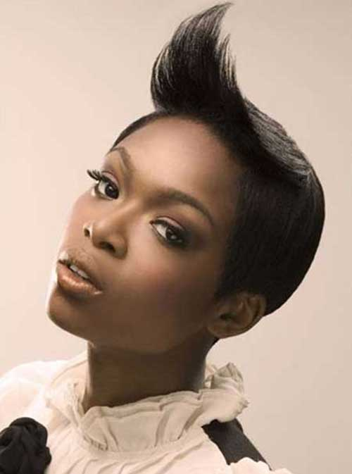 Straight Short Pixie Cuts for Black Women