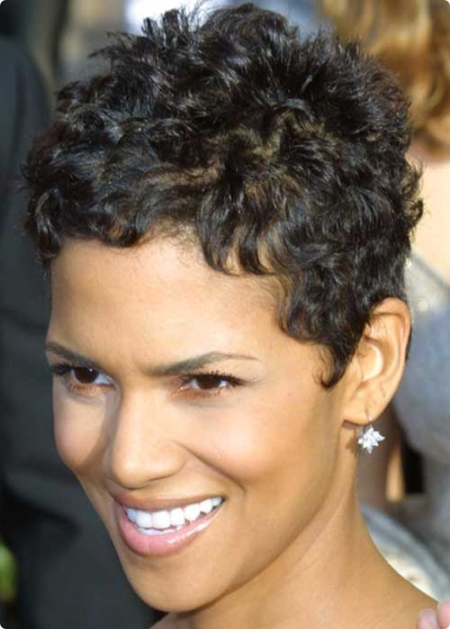 Thick Curly Pixie Cut Hair for Women 2015