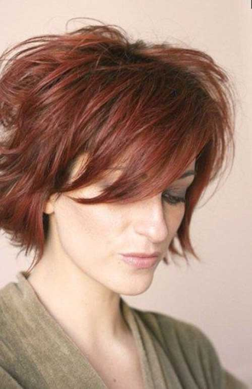 Thick Messy Long Pixie Hair