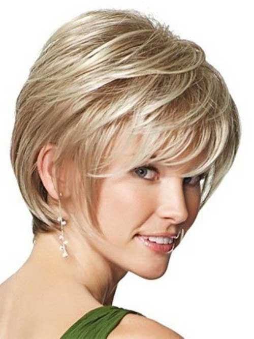 Thick Short Pixie Hair Side View