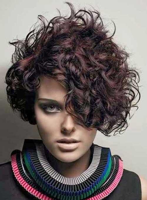 Very Short Curly Bob Haircuts Idea